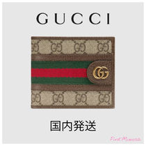 GUCCI Ophidia Folding Wallets