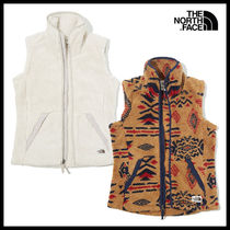 THE NORTH FACE Casual Style Street Style Vest Cardigans