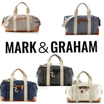 marc AND graham Unisex Street Style A4 2WAY Plain Boston & Duffles