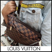 Louis Vuitton Monogram Unisex Canvas Blended Fabrics Street Style
