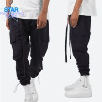 MNML Unisex Street Style Plain Cotton Joggers & Sweatpants