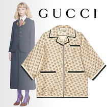 GUCCI Casual Style Silk Shirts & Blouses