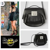 Dr Martens Casual Style Leather Shoulder Bags