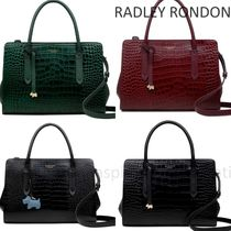 RADLEY Casual Style 2WAY Plain Leather Office Style Elegant Style