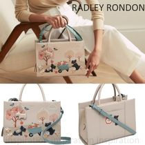 RADLEY Flower Patterns Casual Style Street Style 2WAY 3WAY