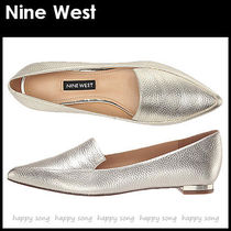 Nine West Casual Style Plain Leather Pointed Toe Shoes