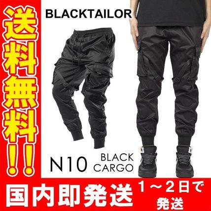 Unisex Street Style Military Joggers & Sweatpants