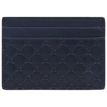GUCCI Gucci Signature Leather Logo Card Holders