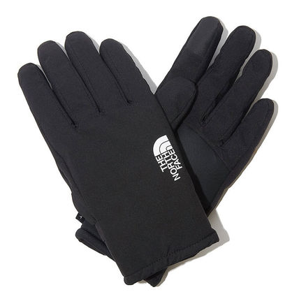 THE NORTH FACE WHITE LABEL Unisex Plain Logo Touchscreen Gloves