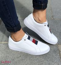 Tommy Hilfiger Casual Style Street Style Slip-On Shoes