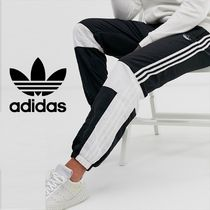 adidas Stripes Sweat Street Style Joggers & Sweatpants