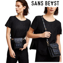 SANS BEAST Casual Style 2WAY Other Animal Patterns Elegant Style