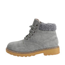 SHOOPEN Platform Round Toe Casual Style Blended Fabrics Street Style