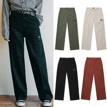 WV PROJECT Slax Pants Unisex Street Style Plain Oversized Slacks Pants