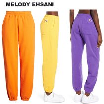 MELODY EHSANI Sweat Street Style Plain Sweatpants