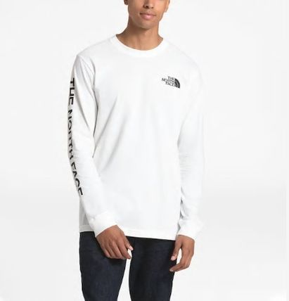 THE NORTH FACE Long Sleeve Crew Neck Pullovers Unisex Street Style Long Sleeves Plain 2