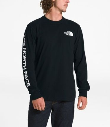 THE NORTH FACE Long Sleeve Crew Neck Pullovers Unisex Street Style Long Sleeves Plain 4