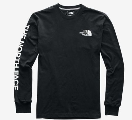 THE NORTH FACE Long Sleeve Crew Neck Pullovers Unisex Street Style Long Sleeves Plain 6