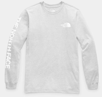 THE NORTH FACE Long Sleeve Crew Neck Pullovers Unisex Street Style Long Sleeves Plain 7