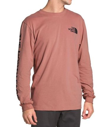 THE NORTH FACE Long Sleeve Crew Neck Pullovers Unisex Street Style Long Sleeves Plain 9