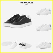 The kooples Plain Leather Sneakers