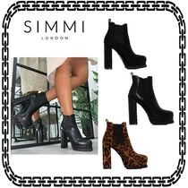 SIMMI Leopard Patterns Platform Casual Style Street Style