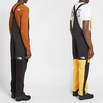 THE NORTH FACE Unisex Street Style Collaboration Overalls Logo Bottoms