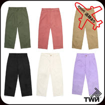 TWN Unisex Street Style Cotton Cropped Pants