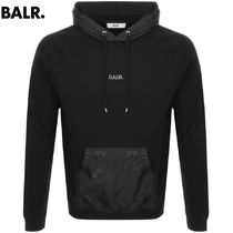 BALR Long Sleeves Plain Cotton Hoodies