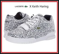 LACOSTE Street Style Leather Sneakers