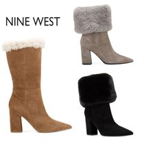 Nine West Suede Ankle & Booties Boots