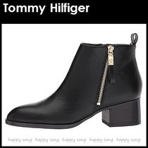 Tommy Hilfiger Casual Style Faux Fur Plain Ankle & Booties Boots