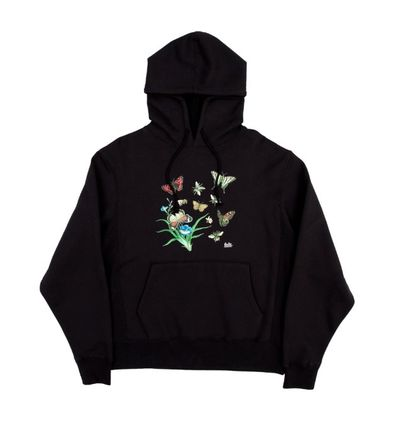 Pullovers Flower Patterns Unisex Sweat Street Style