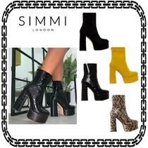 SIMMI Platform Casual Style Street Style Other Animal Patterns