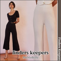 Finders Keepers Casual Style Nylon Plain Medium Culottes