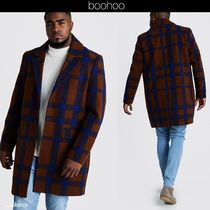 boohoo Other Check Patterns Chester Coats