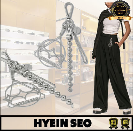 Chain Logo Keychains & Bag Charms