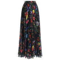 Chicwish Flower Patterns Tropical Patterns Maxi Long Elegant Style