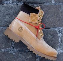 Timberland Unisex Blended Fabrics Street Style Boots