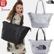 THE NORTH FACE Casual Style Unisex Nylon A4 Plain Totes