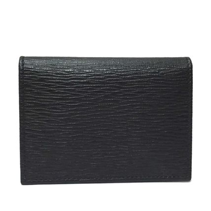 Salvatore Ferragamo Leather Card Holders