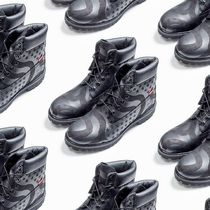 Supreme Unisex Blended Fabrics Street Style Boots