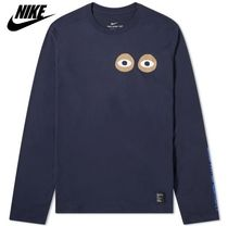 Nike Crew Neck Pullovers Collaboration Long Sleeves