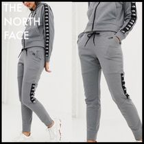 THE NORTH FACE Casual Style Sweat Street Style Plain Long Skinny Pants