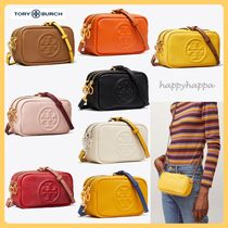 Tory Burch PERRY 2WAY Plain Leather Shoulder Bags