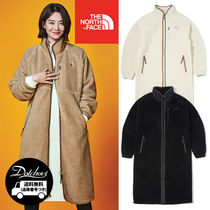 THE NORTH FACE Casual Style Unisex Plain Long Outerwear