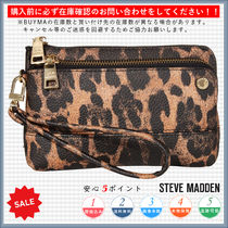Steve Madden Leopard Patterns Casual Style Handbags