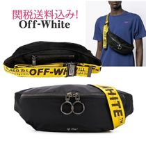 Off-White Nylon 2WAY Plain Hip Packs
