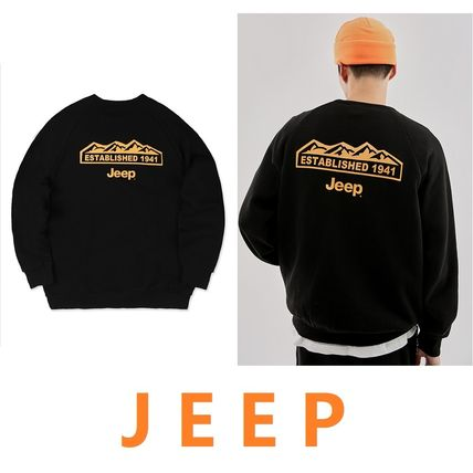 JEEP More T-Shirts Unisex Street Style Plain Co-ord T-Shirts