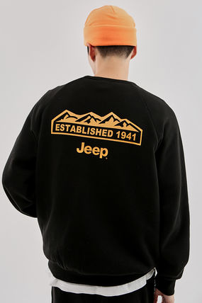 JEEP More T-Shirts Unisex Street Style Plain Co-ord T-Shirts 4
